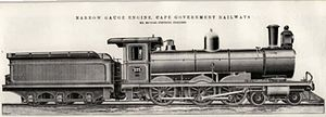 South African type YC tender - Type YC tender on CGR 6th Class of 1896