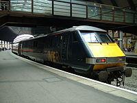 Class 91 At York Railway Station.jpg