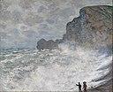 Claude Monet - Rough weather at Étretat - Google Art Project.jpg