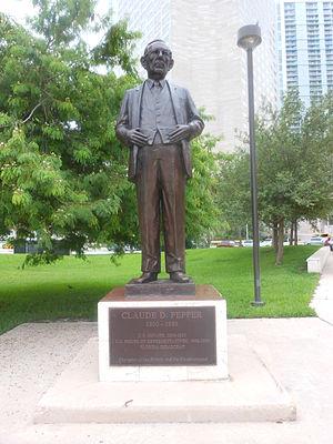 Claude Pepper - Statue of Claude Pepper in Miami