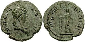 Claudia Octavia - Coin of Claudia Octavia