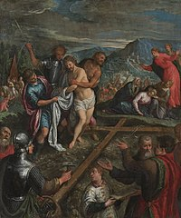 Preparation for the Crucifixion