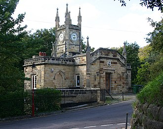 Benjamin Lewis Vulliamy - Maze Hill, St Leonards
