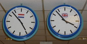 Clocks in Europort