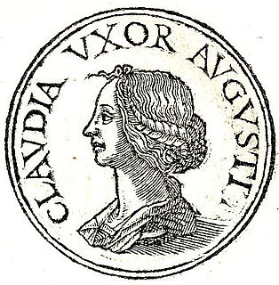 Clodia Pulchra (wife of Octavian) First wife of Augustus