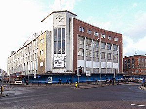 Manor Property Group - The former Co-operative department store on Bond Street, in Hull