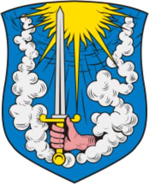 Gvardeysk - Image: Coat of Arms of Gvardeisk (Kaliningrad oblast)