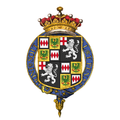 Coat of arms of George Montagu, 4th Earl of Cardigan, KG.png