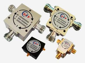 Port (circuit theory) - Coaxial circulators.  Circulators have at least three ports