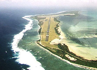 Cocos (Keeling) Islands - Image: Cocos (Keeling) Islands Airport RWY33