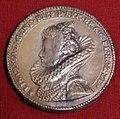 Coenraad bloc, medaglia di isabella di spagna, 1599.jpg