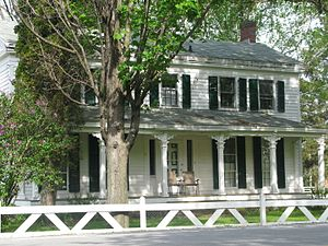 National Register of Historic Places listings in Saratoga County, New York - Image: Col Sidney Berrys house picture 1