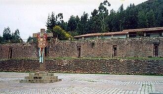 Colcampata - Wall at Colcampata