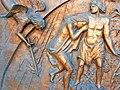 Colleferro - Porta in Bronzo della Chiesa di Santa Barbara - Particolare 2.jpg