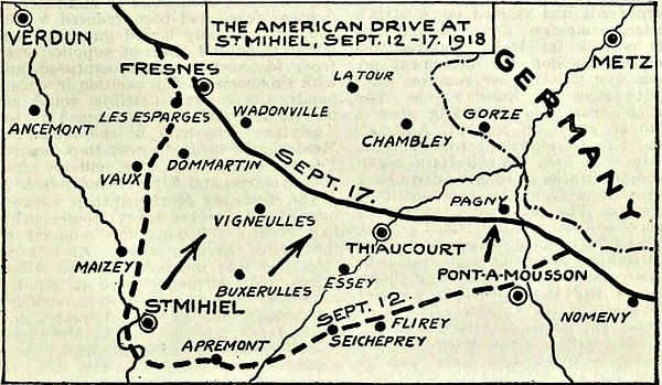 Collier's 1921 World War - American drive at St. Mihiel.jpg