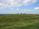 Hill of Tara in County Meath, Ireland, legendary seat of the High Kings.