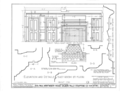 Colonel Paul Wentworth House, Dover Street (moved to MA, Dover), Dover, Strafford County, NH HABS NH,9-SALFA,1- (sheet 7 of 41).png