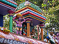 Colours of India, Painted Temple Roof.jpg