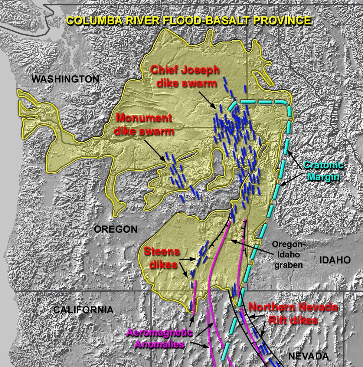 Columbia River Basalt Group - Wikipedia