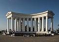 Columnata del conjunto del Palacio Voronstov.jpg