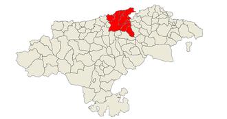 Bay of Santander - Image: Comarca de Santander