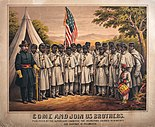 United States Colored Troops recruiting poster