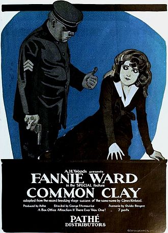 Common Clay (1919 film) - Image: Common Clay (1919) Ad 1