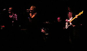 Company of Thieves (band) - Company of Thieves performing in March 2009 with former bassist Bob Buckstaff.