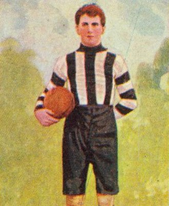 Con McCormack - McCormack during his career with Collingwood