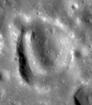 Concentric crater near Lavoisier W.png