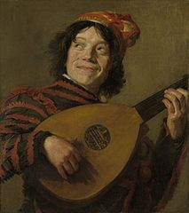 The lute player (after Hals)