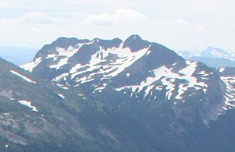 Bedded Range - Northern flank of Coquihalla Mountain