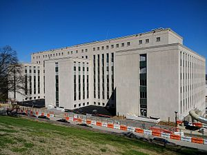 Cordell Hull State Office Building - Image: Cordell Hull Building in Nashville 1