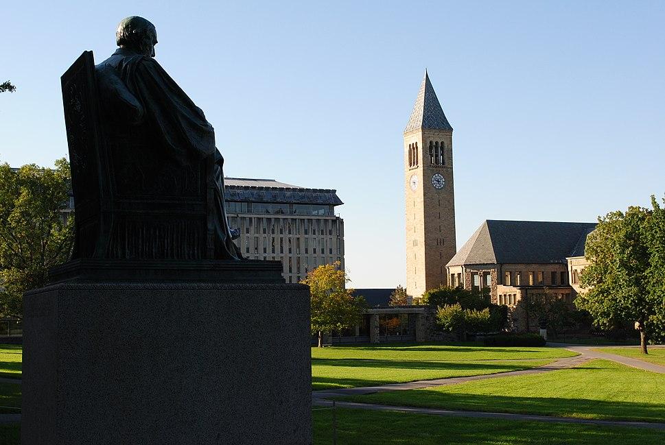 Cornell University arts quad