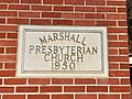 Cornerstone, Marshall Presbyterian Church, Marshall, NC (46636268192).jpg