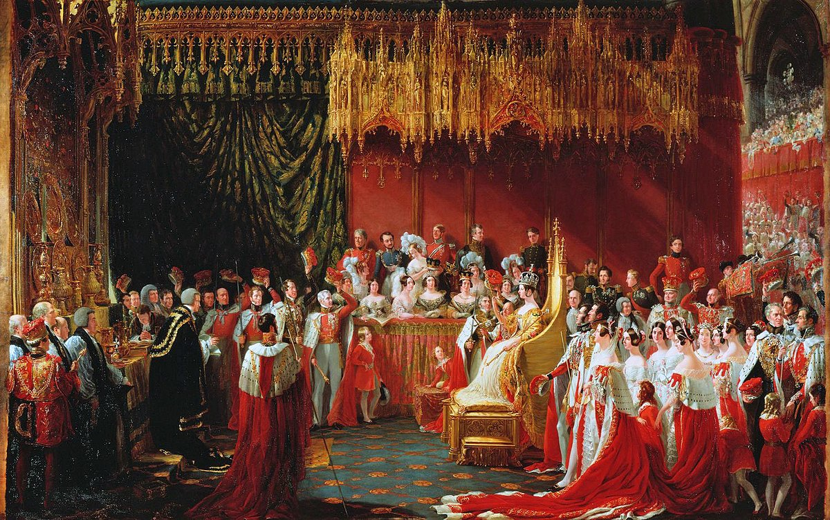 Matrimonio Romanov : Coronation of queen victoria wikipedia