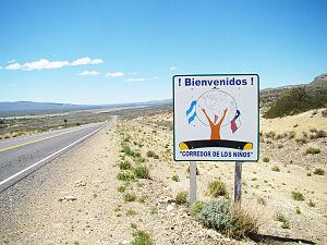 Pino Hachado Pass - El Corridor de los Niños, Pino Hachado Pass