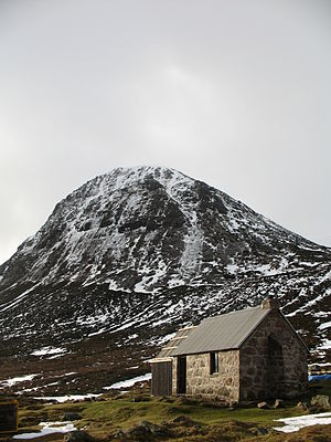 The Devil's Point - Devil's Point and Corrour Bothy