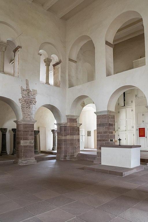 Karolingisches Westwerk im Kloster Corvey - Innen, 1 OG. Johanniskapelle