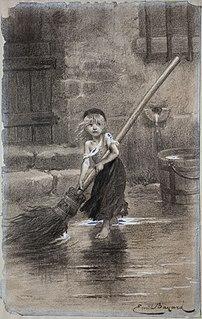 Cosette fictional character from Les Misérables