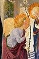 Cosimo rosselli, annunciazione tra i ss. giovanni battista, antonio, caterina e pietro, 1473, 03 angelo.jpg