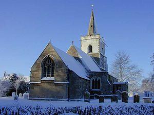 Coton, Cambridgeshire - Image: Coton church