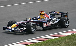 Red Bull RB1 - Image: Coulthard Red Bull Canada 2005