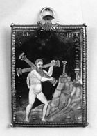 Couly Nouailher - Hercules Carries the Two Columns - Walters 44265