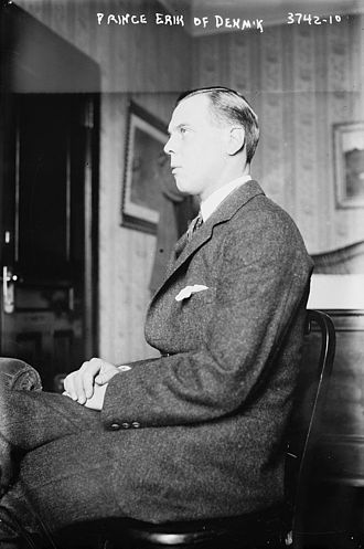Prince Erik, Count of Rosenborg - Prince Erik in 1916