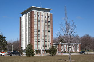 Binghamton University - The Couper Administration Building