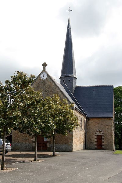 Church of Courcebœufs.
