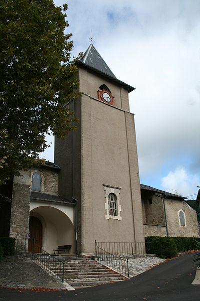 Courniou (Hérault) - église Notre-Dame.