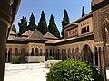 Court of the Lions, Alhambra de Granada (Spain).jpg
