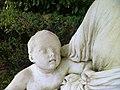 Coutances - Jardin des plantes, La Maternite (detail enfant).JPG